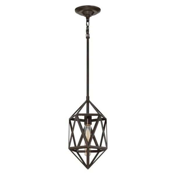 geometric mini pendant light # 3