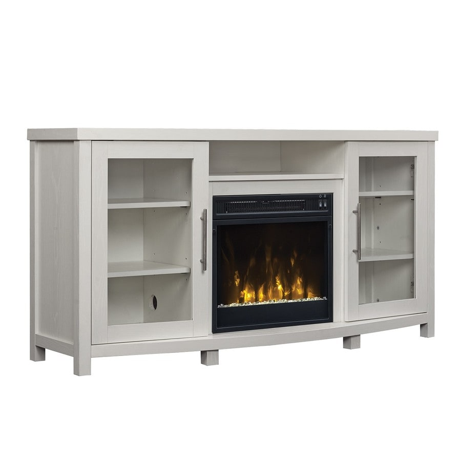 Classicflame Rossville White Fireplace Tv Stand At Lowes Com