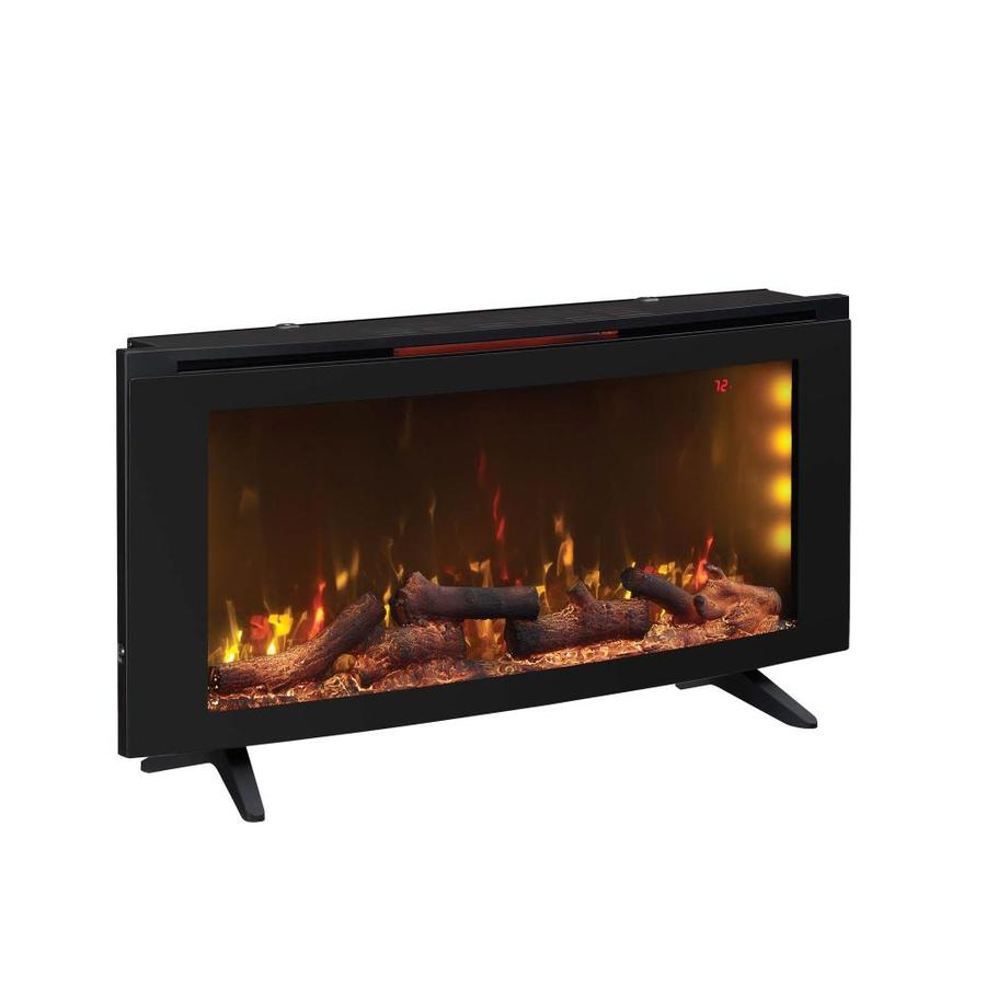 Duraflame 42 In W Black Infrared Quartz Electric Fireplace