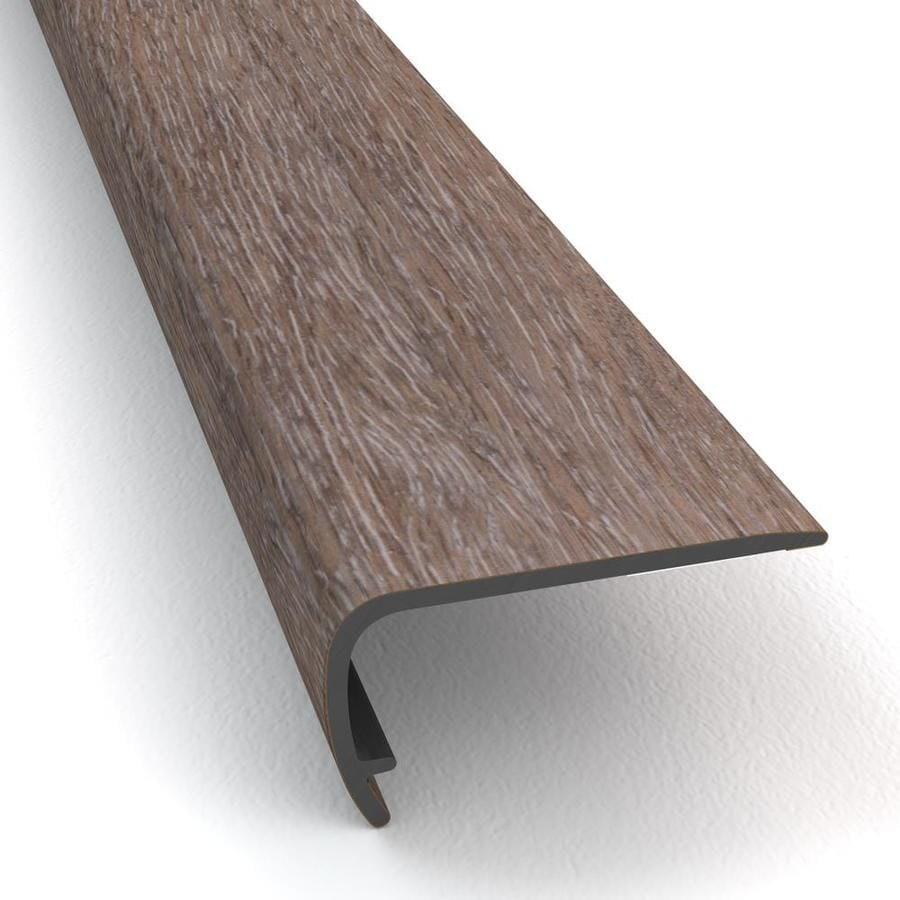 Stainmaster 2 In X 94 In Washed Oak Dove Stairnose Prefinished Oak | Carpet Stair Nosing Metal | Anti Slip Stair | Laminate Flooring | Edge Trim | Edging Nosings | Inserts