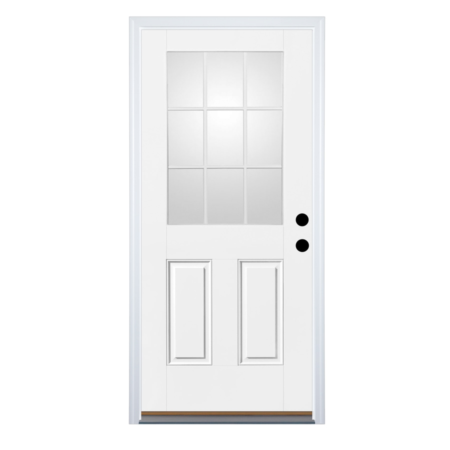 Therma Tru Benchmark Doors 2 Panel Insulating Core 9 Lite