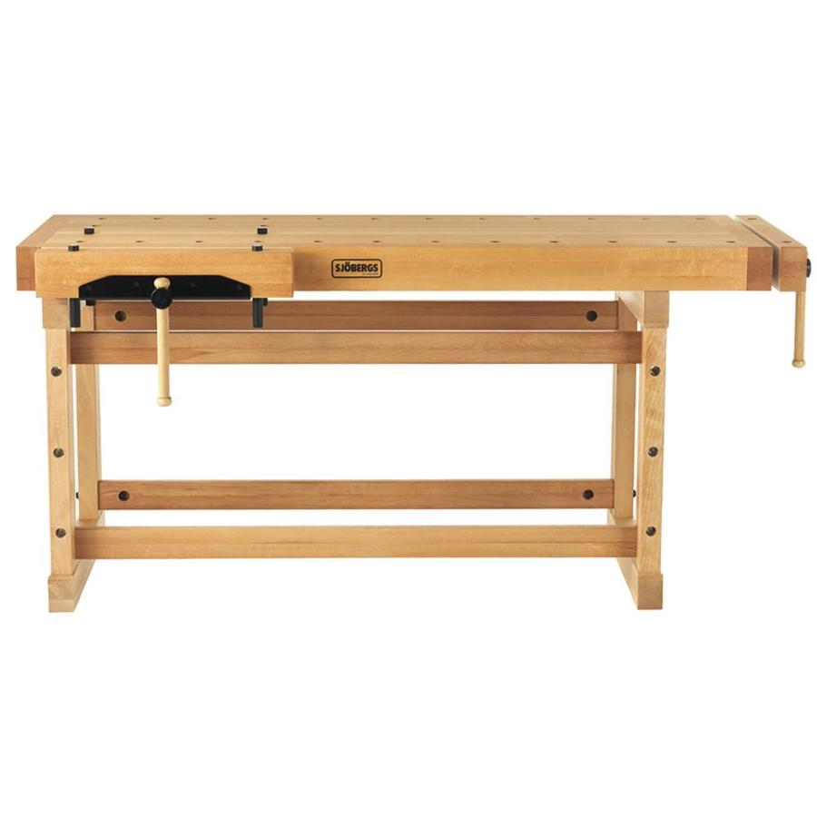 Sjobergs 23 625 In W X 35 4375 In H Wood Work Bench At