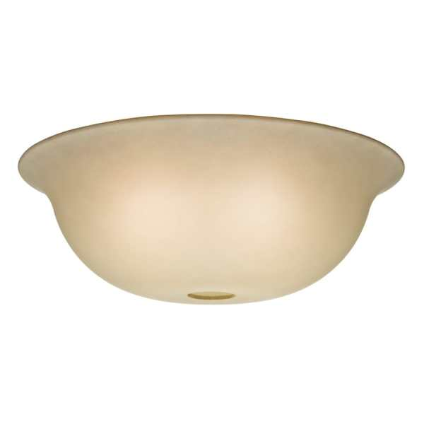 Shop Casablanca 4 375 in H 12 75 in W Tea Stain Tinted Glass Bowl     Casablanca 4 375 in H 12 75 in W Tea Stain Tinted Glass Bowl Ceiling Fan   Light fitter not included