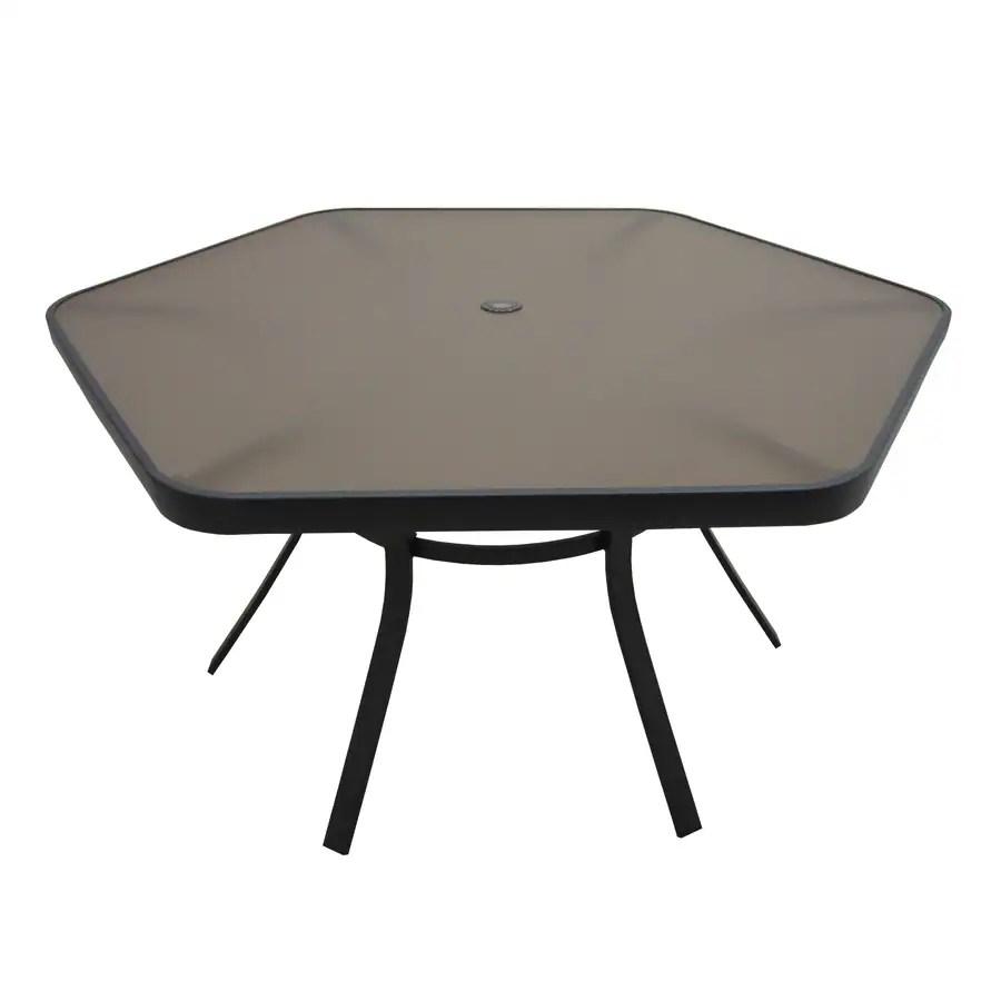 Hexagon Patio Table
