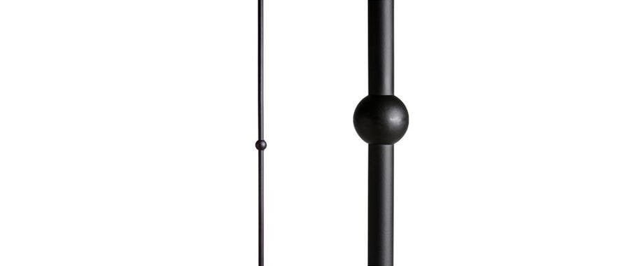 House Of Forgings Round 44 In Satin Black Wrought Iron Classic   House Of Forgings Balusters   Wentworth   Hand Forged   Custom   Versatile Series   Marquise