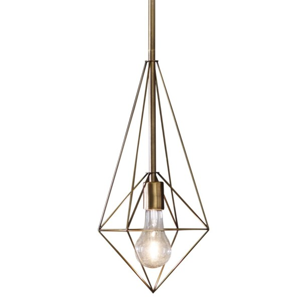 geometric mini pendant light # 61