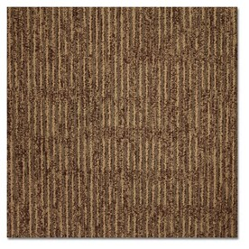 Shop Carpet Tile at Lowes com Kraus Home and Office 20 Pack 19 625 in x 19 625 in Aged Leather