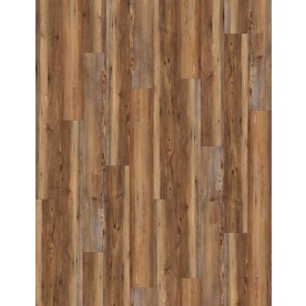 Shop Vinyl Plank at Lowes com SMARTCORE 8 Piece 5 91 in x 48 03 in Blue Ridge Pine Locking Luxury