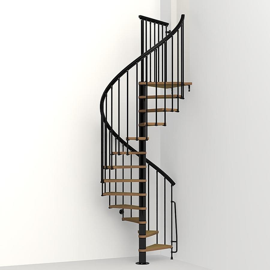 Spiral Staircase Kits At Lowes Com | 10 Foot Spiral Staircase | Reroute Galvanized | Lowes | Stair Kit | Winding Staircase | Staircase Kit