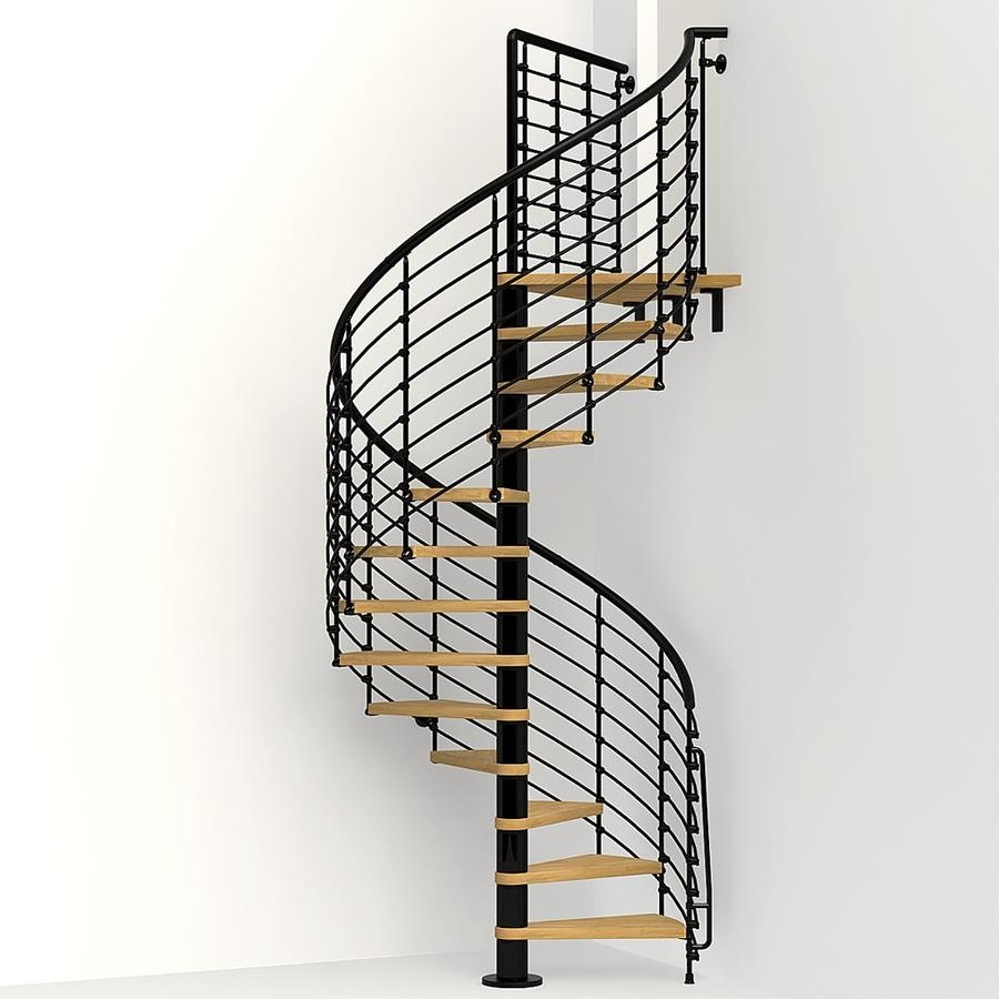 Staircase Kits At Lowes Com | Metal Spiral Staircase Prices | Treads | Wrought Iron | Stair Case | Steel Spiral | Stair Treads