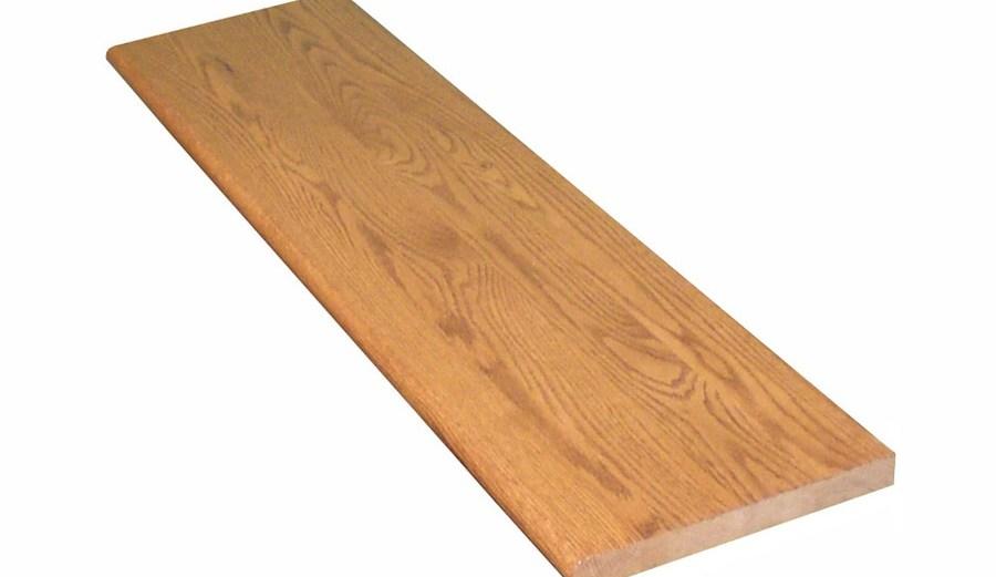 Stairtek 11 5 In X 36 In Gunstock Prefinished Red Oak | 36 Inch Oak Stair Treads