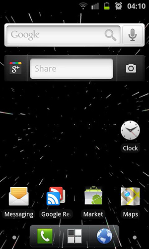 Starfield 2 3D live wallpaper for Android. Starfield 2 3D ...