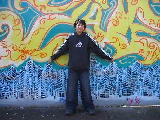 Graffiti of Green Street, at jas's moblog