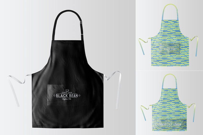 15 Unique Apron Mockup Psd Templates Mockuptree