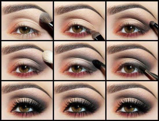 Maquillage des yeux créatifs