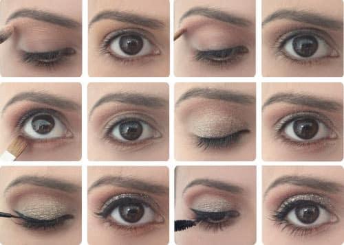Maquillage pour grands yeux bruns