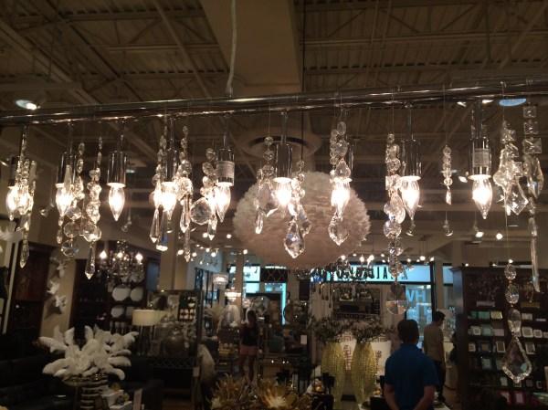 linear strand crystal chandelier z gallerie # 20