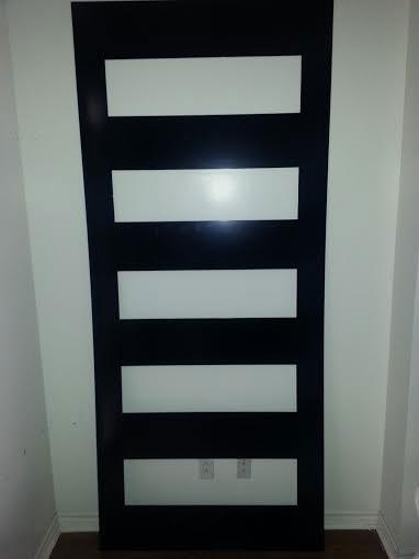 New Modern Exterior Doors With Door Lites And Aluminum Plate