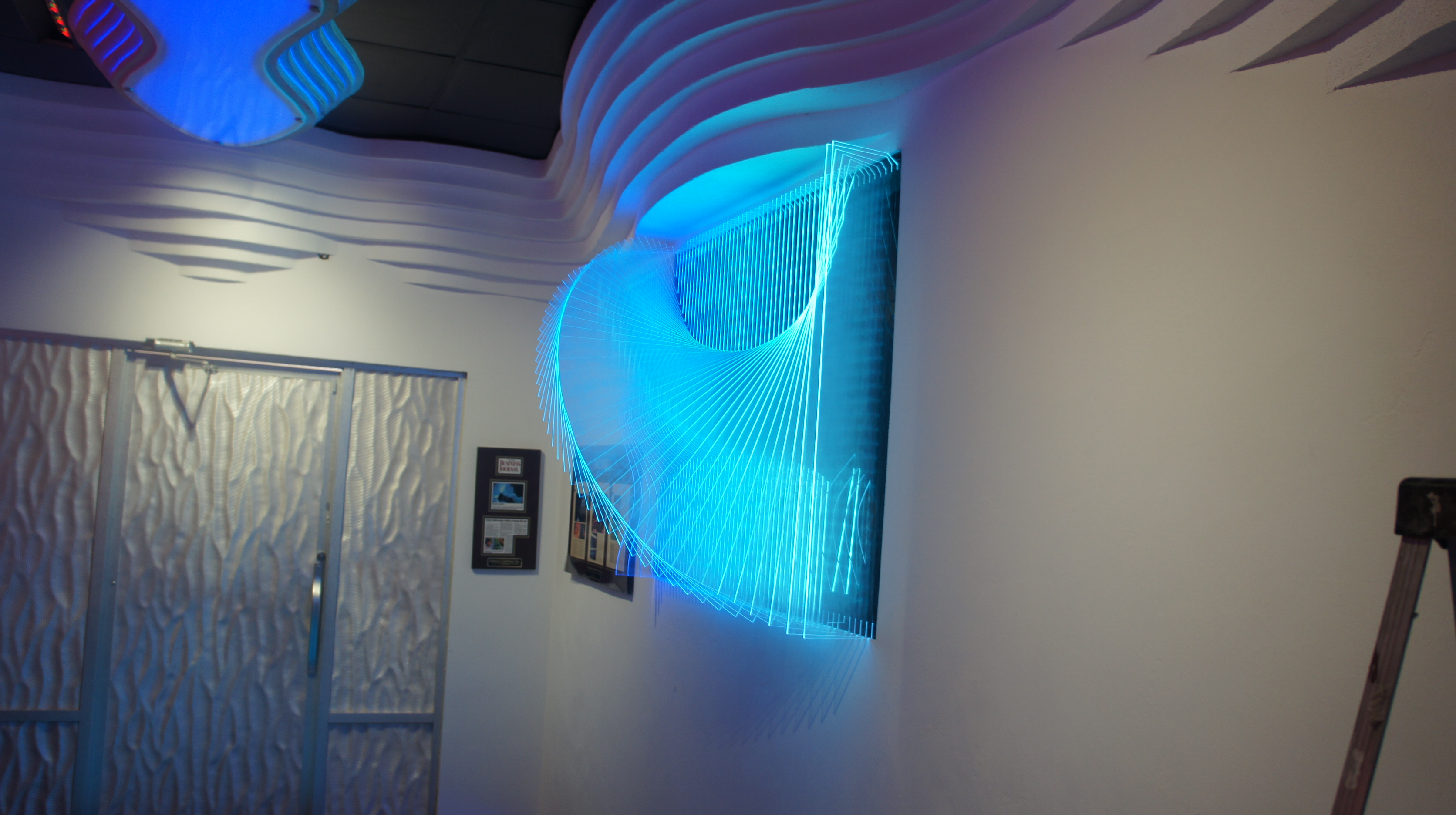 Blog Clear Acrylic Sculptural Led 3d Wall Panel By