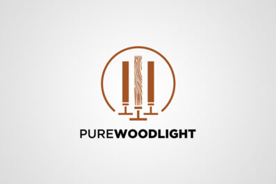 Pure Wood Light logo