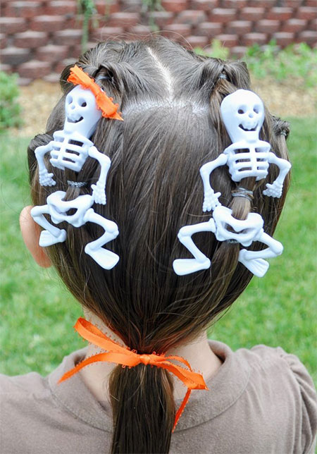 20 Crazy Amp Scary Halloween Hairstyle Ideas For Kids Girls Amp Women 2015 Modern Fashion Blog