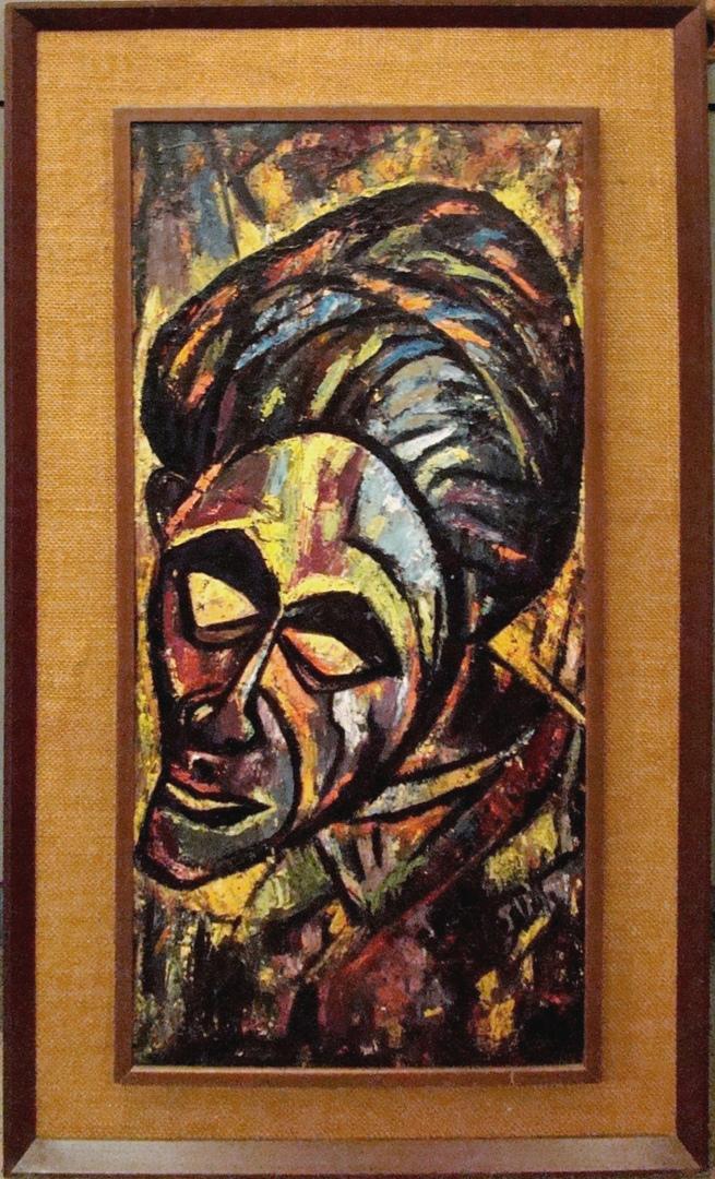 Mid Century Modern Canvas Art