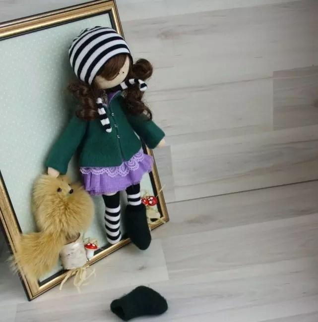 Použitý možná hotová panenka nebo samostatně
