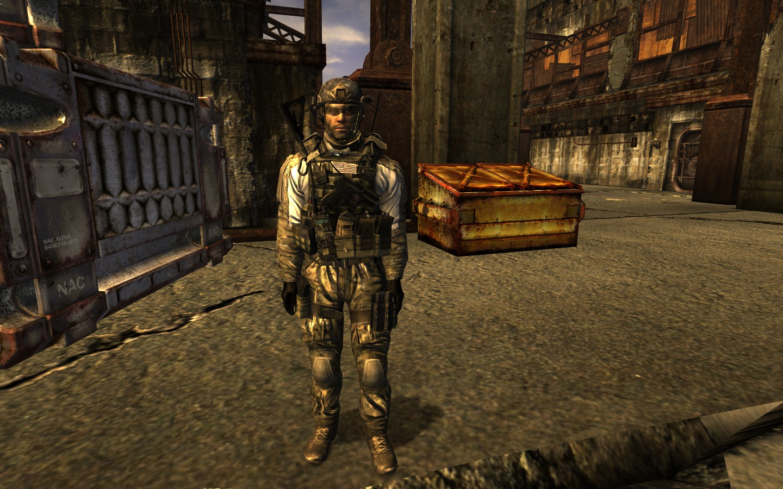 Fallout New Vegas Mw2 Armor