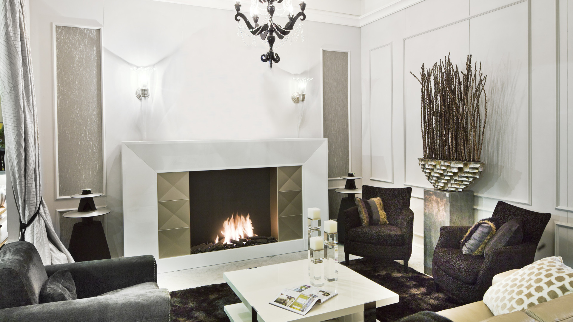Luxury Bespoke Fireplace Designs