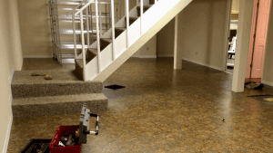 ModuTile: Interlocking Floor Tiles Basement, Basketball