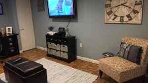 Interlocking Floor Tiles Wood Vinyl Top ModuTile Made