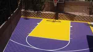 Backyard Basketball Court Ideas ModuTile Sport Floor