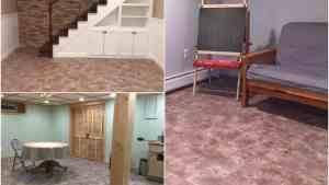 Sandstone Interlocking Basement Tiles Modular Flooring