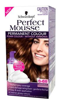 สีผมมูสที่สมบูรณ์แบบ