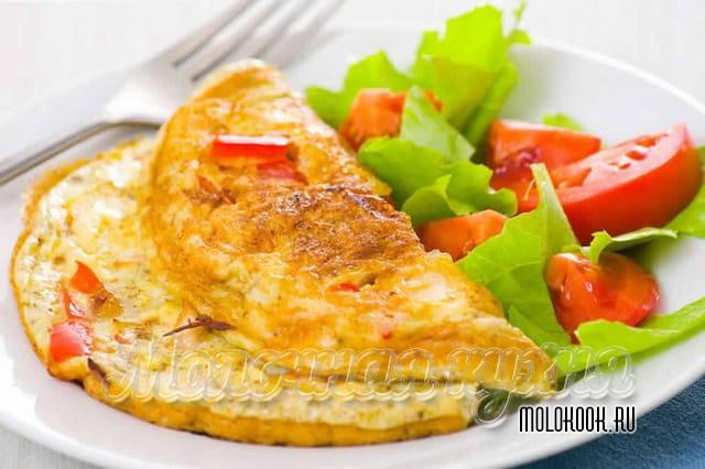 Omelete aérea.