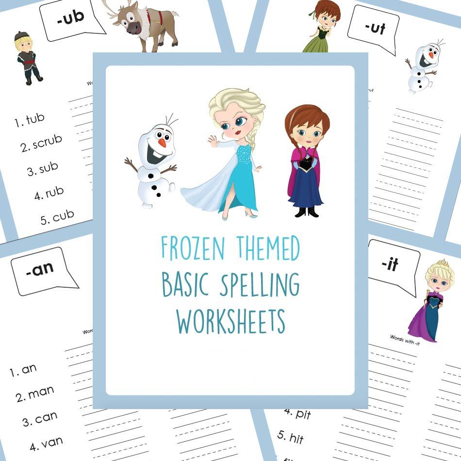 Basic Spelling Worksheets