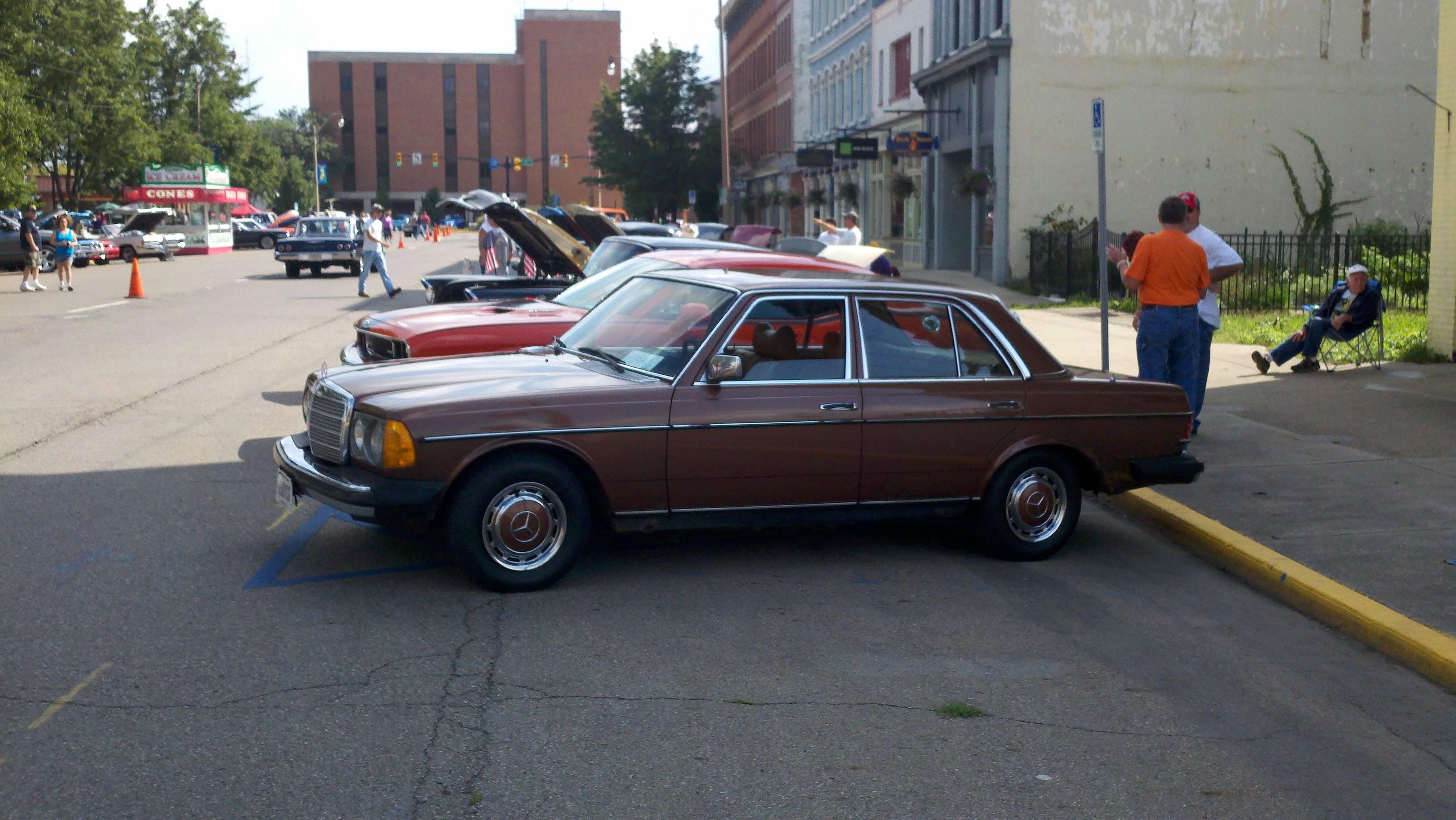 1976 Mercedes 300d Wiring Diagram