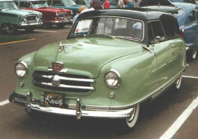 1952 Nash Station Wagon