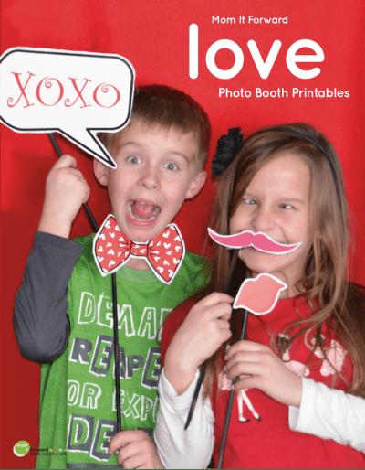 Love Photo Booth Printables - Mom it ForwardMom it Forward
