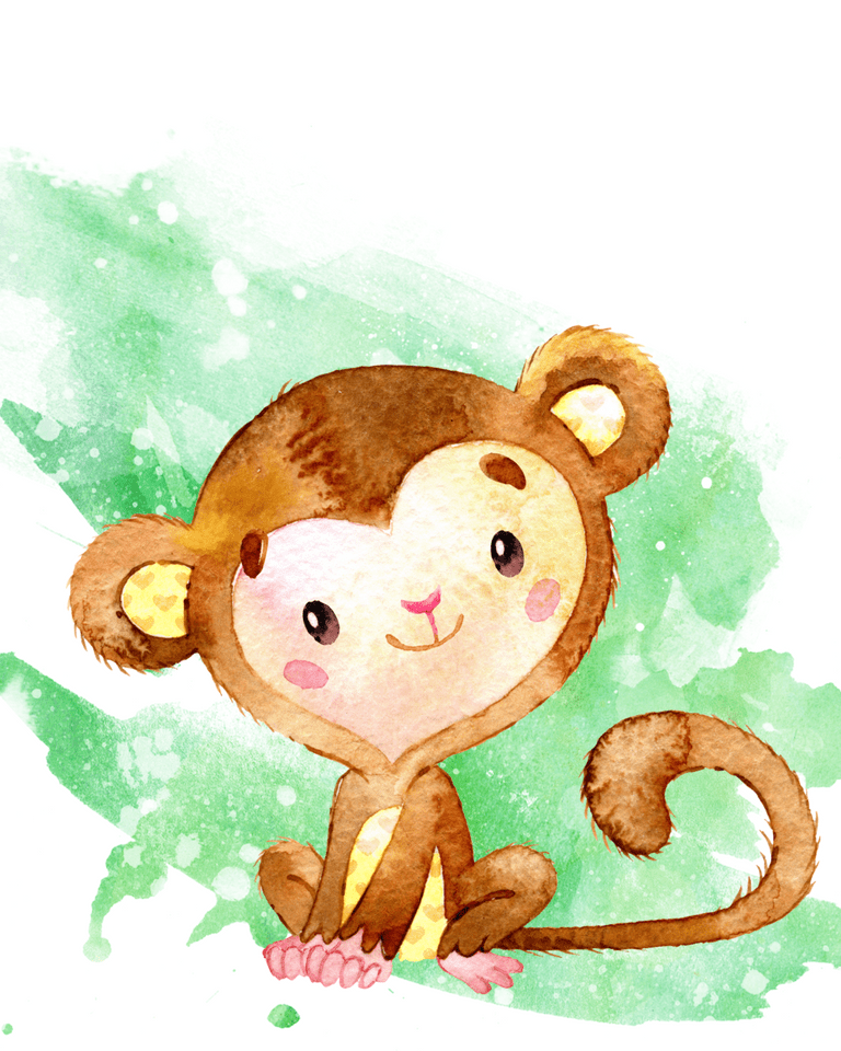 Set Of Monkey Printables For Nursery Rooms Free