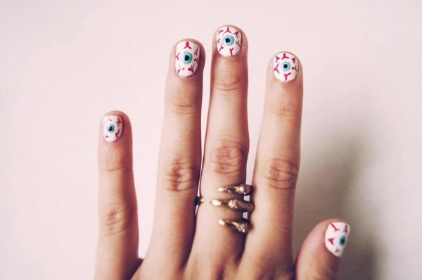 Peace Nail Designs For Short Nails