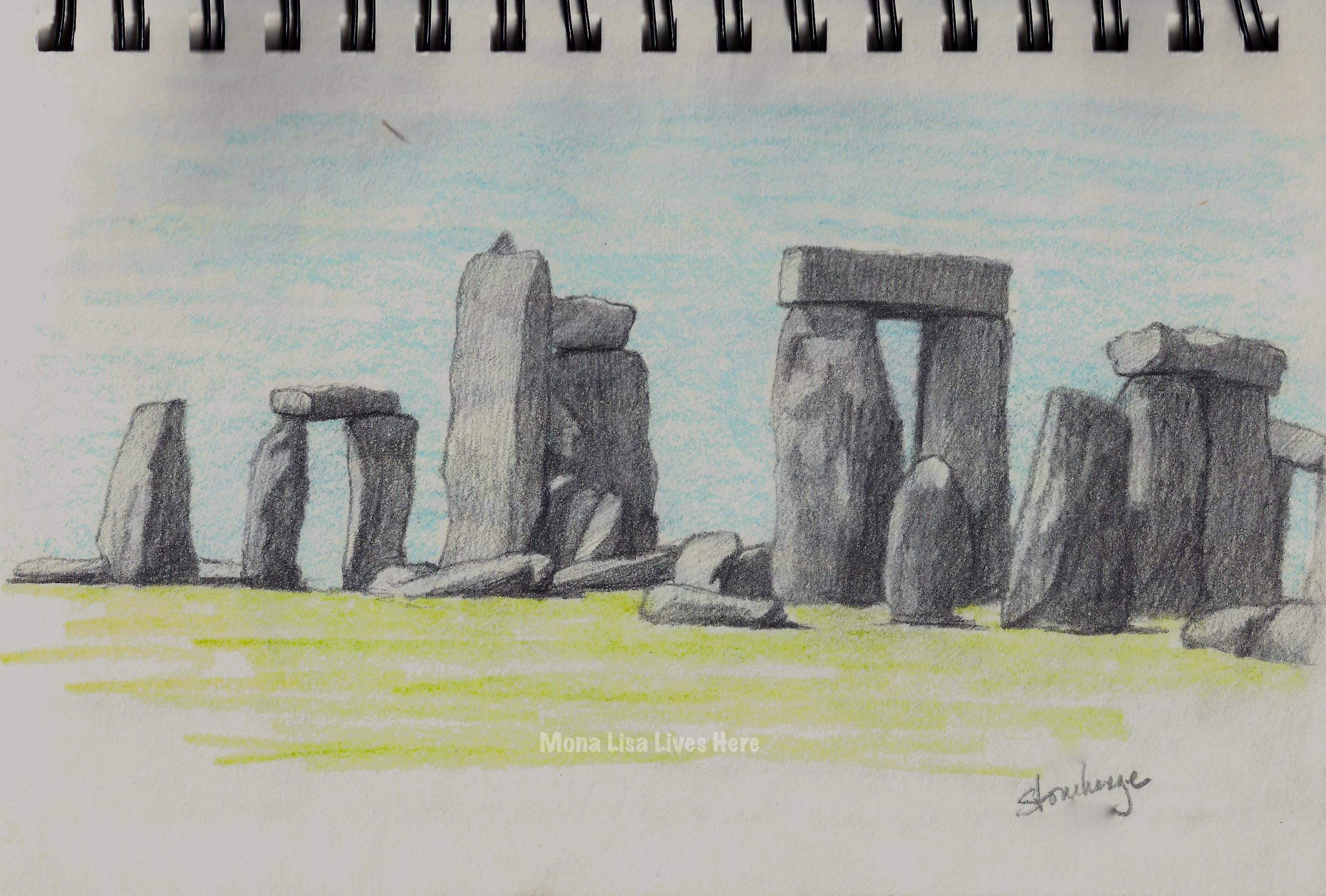 stonehenge sketchbook - HD2640×1785