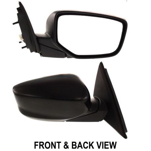 Two Black Bolt Side View Mirror