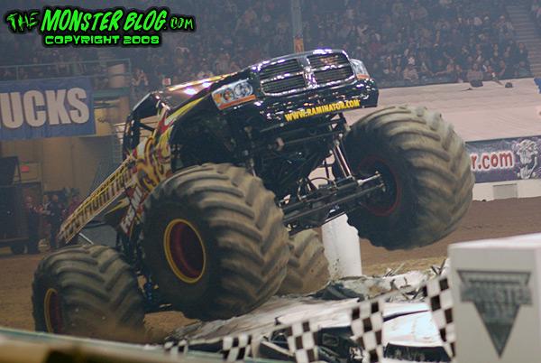 Tingley Coliseum Monster Jam
