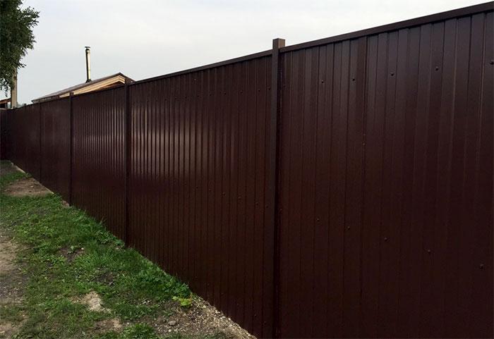 Kompletní plot z kovu