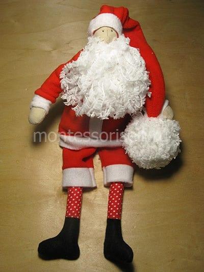 Santa Claus dalam gaya tilde
