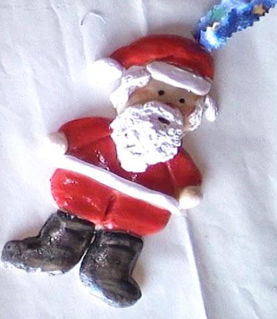 Santa Claus z těsta