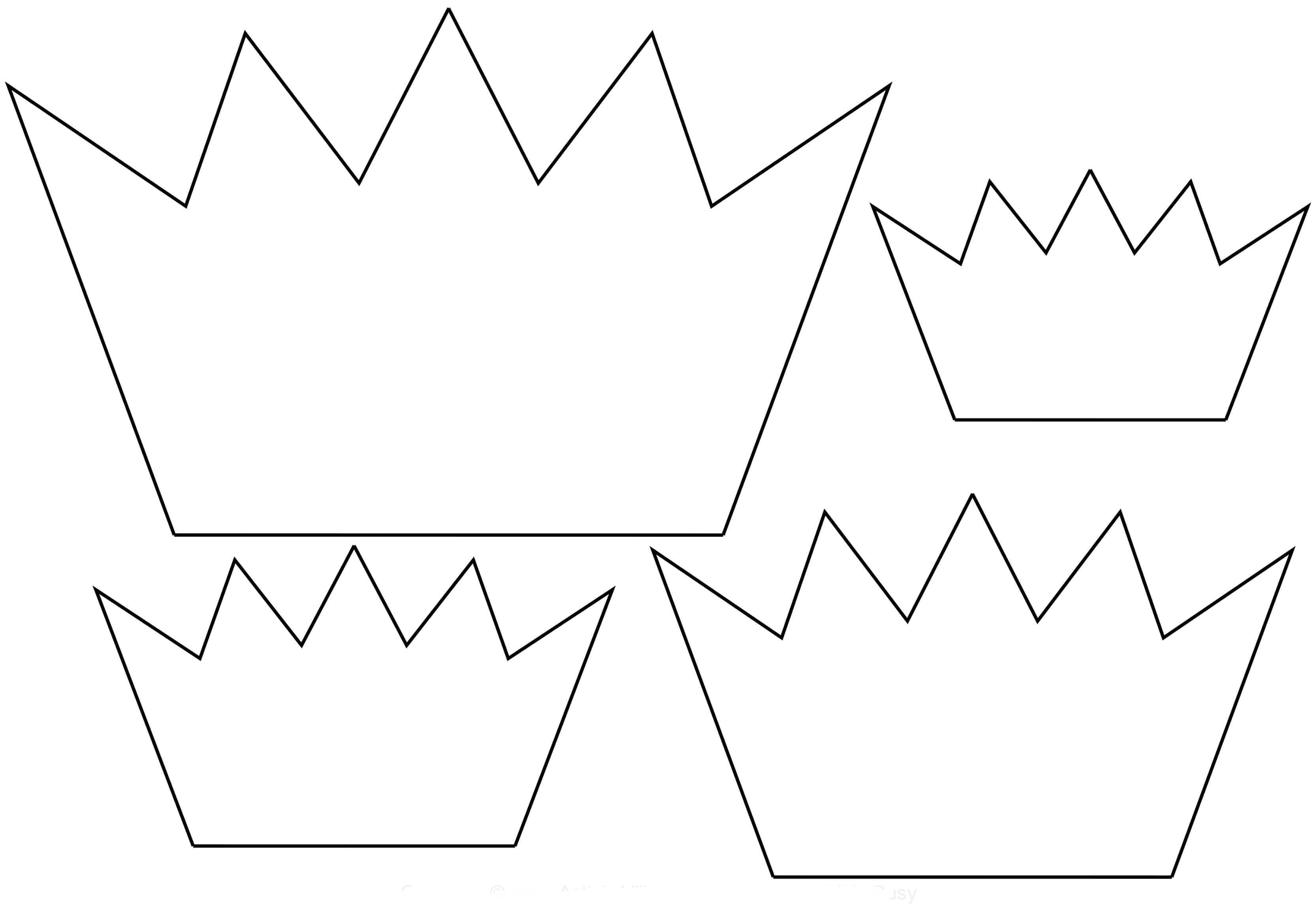 Кесуге арналған тәж үлгісі