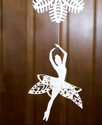 Нәзік балерина қағазы