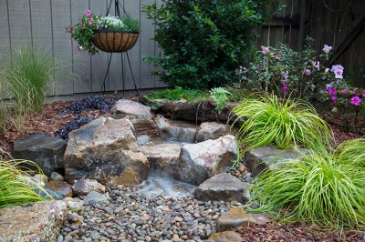 Backyard Waterfall Landscape Fountain Kit | Moore Water ...
